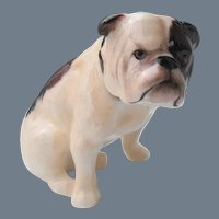 Royal Doulton Seated Bulldog K 1 Figurine Signed