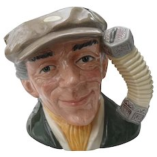 Large Royal Doulton The Busker Toby Jug D 6775