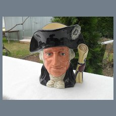 Large Royal Doulton George Washington D 6669 B Toby Jug