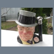 Large Royal Doulton W.C. Fields Toby Jug D 6674