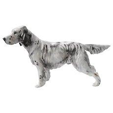 Large Royal Doulton English Setter Ch. Maesydd Mustard Dog HN 1049
