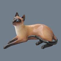 Royal Doulton Siamese Cat HN 2662 Figurine