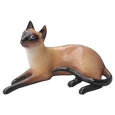 Royal Doulton Siamese Cat HN 2662 Figurine