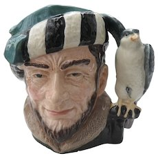 Large Royal Doulton The Falconer Toby Jug D 6533