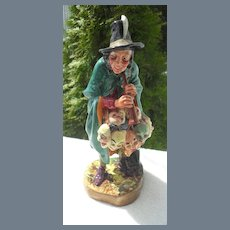 Royal Doulton The Mask Seller HN 2103 Witch Figurine