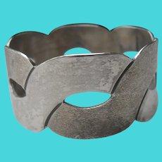 Vintage Taxco Silver Napkin Ring