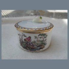 Vintage Richard Ginori Mantova Trinket Box Fig
