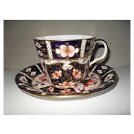 Royal Crown Derby 2451 Imari Teacup and Saucer