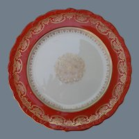 Set of 11 Shelley Persimmon Dessert Plate s