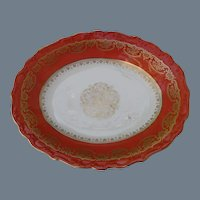 Shelley Persimmon Shallow Serving Dish 12886