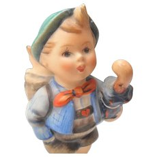 """Hummel 198 2/0 Home From Market Boy and Pig 5"""" Full Bee"""