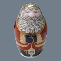 Royal Crown Derby Santa Paperweight