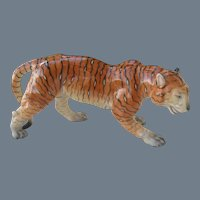 Herend Hunting Tiger Figurine 5366