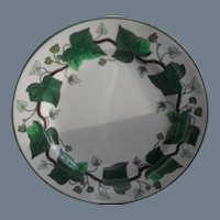 Vintage Wedgwood Napoleon Ivy Etruria & Barlaston Bread Plate