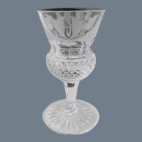 "Edinburgh Crystal Scotland Thistle Cordial Glass 3 3/8"""