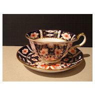 Royal Crown Derby Imari 2451 Teacup and Saucer 1929