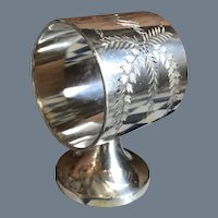 Antique Rogers Bros Silverplate Aesthetic Napkin Ring 131