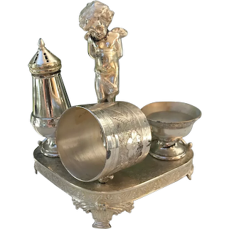 James Tufts Silver Combination Set