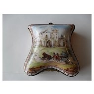 National Trust Porcelaine de Paris Lyndhurst Trinket Box