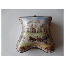 National Trust Porcelaine de Paris Lyndhurst Trinket Box
