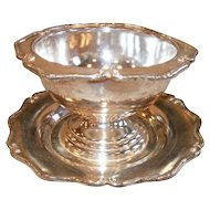 Wm A. Rogers Heirloom Silverplate Grapefruit Bowls (6)