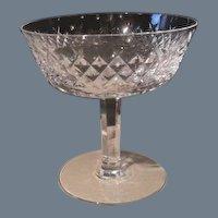 Waterford Heavy Irish Crystal Alana Sherbet Glass