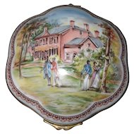 National Trust Woodlawn Mt Vernon Virginia Trinket Box