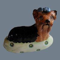 Basil Matthews Yorkshire Terrier Yorkie Figurine