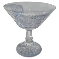 Elegant Waterford Crystal Lismore Champagne Glass