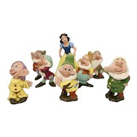 American Pottery Co. Snow White and the Seven Dwarfs Set