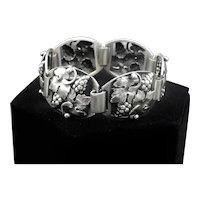Axel Prip Denmark Grapes & Leaves 830 Silver Bracelet