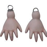 Vintage Porcelain Doll Hands