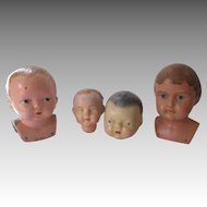 Antique Doll Heads for Your Doll