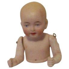 Antique bisque Half Doll - Red Tag Sale Item