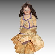 Antique Heubach Koppelsdorf Doll.