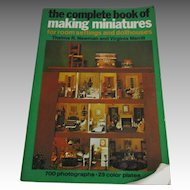 Complete Book OF Making Miniatures Book