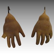 Antique Composition Doll Hands