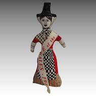 Vintage Welsh Cloth Doll
