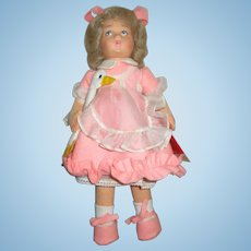 Vintage Lenci Duck Girl Doll