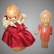 Vintage Celluloid Kewpie Dolls