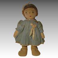 Vintage Folk Art Doll