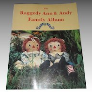 The Raggedy Ann & Andy Family Album Book By Susan Ann Garrison