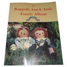 The Raggedy Ann & Andy Family Album Book By Susan Ann Garrison