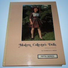 Modern Collector's Dolls Book (Fifth Series) By Patricia R. Smith