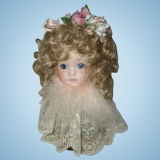 Vintage Doll Head On A Stand