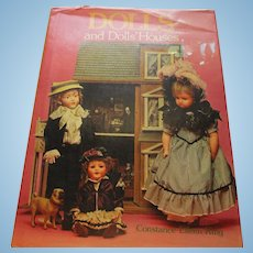 Dolls and Dolls' Houses Book By Constance Eileen King