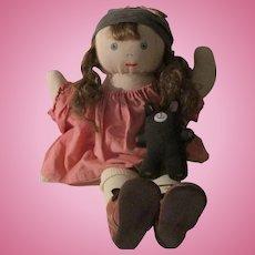 Vintage Artist Doll Little Girl