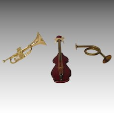 Vintage Music Instruments For Your Dolls