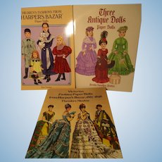 Vintage Paper Doll Books