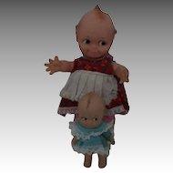 Vintage Cameo Kewpie Dolls